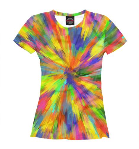 Футболка Print Bar Взрывные краски футболка print bar светлые краски