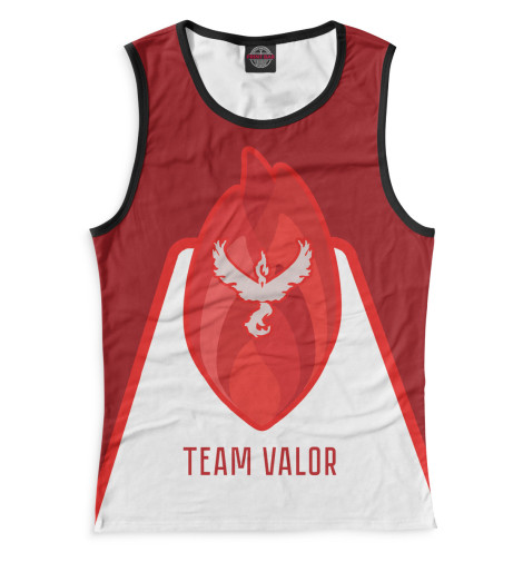 Майка Print Bar Team Valor футболка print bar valor pokemon team