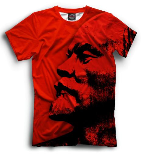 Мужская футболка Ленин