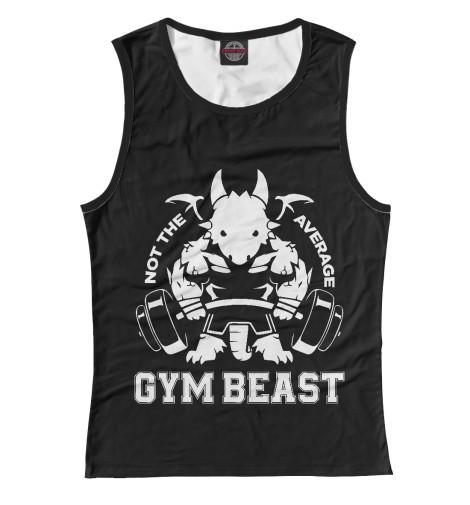 Майка Print Bar Gym Beast майка print bar drogos gym