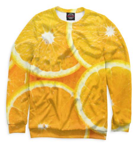 Мужской свитшот Апельсины