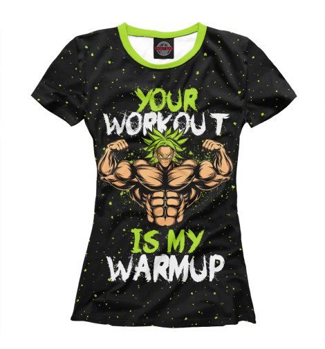 Футболка Print Bar My Workout футболка print bar oh my deer