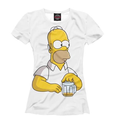 Купить Женская футболка Homer SIM-729897-fut-1