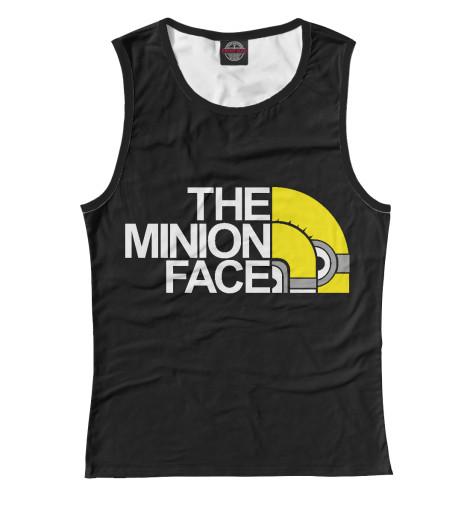 Майка Print Bar The Minion Face майка борцовка print bar minion frankestein