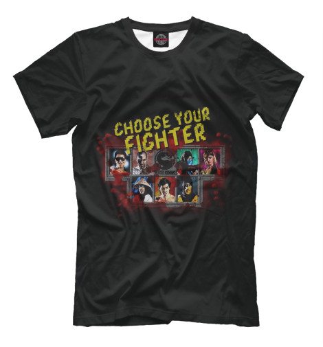 Футболка Print Bar Choose Your Fighter футболка print bar choose your fighter