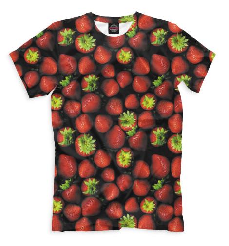 Мужская футболка Клубника