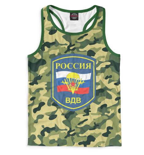 Мужская майка-борцовка Россия ВДВ Print Bar VDV-312403-mayb-2