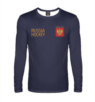 Мужской лонгслив Russia hockey