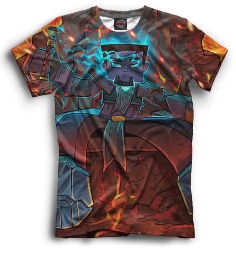 Купить Мужская футболка Minecraft MCR-160913-fut-2