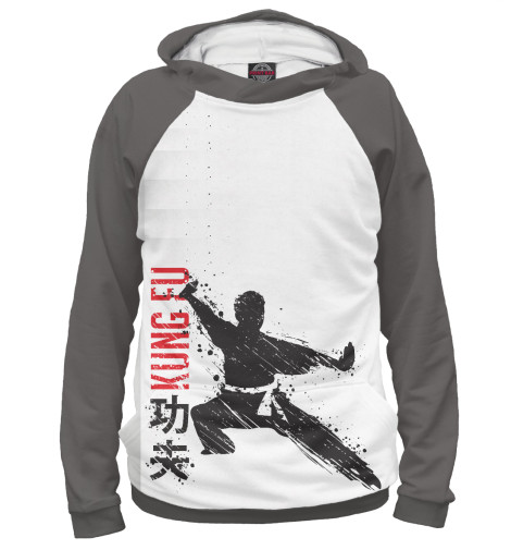 Худи Print Bar Kung Fu аксессуар man kung тетива для блочного арбалета mk 350s