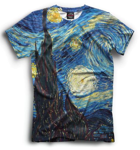 Мужская футболка Звёздная ночь