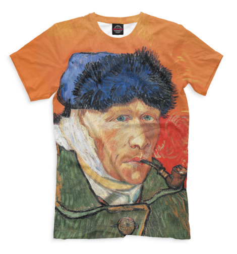 Купить Мужская футболка Ван Гог GHI-812640-fut-2