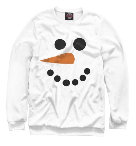 Свитшот Print Bar Снеговик минимализм