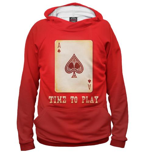Мужское худи Покер