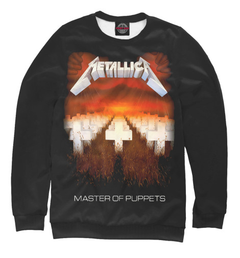 Свитшот Print Bar Metallica Master of Puppets