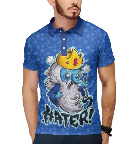 Поло Print Bar Ice King лонгслив printio ice king x batman
