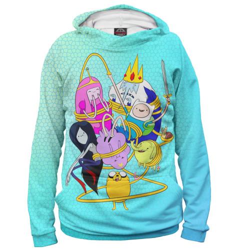 Мужское худи Adventure Time