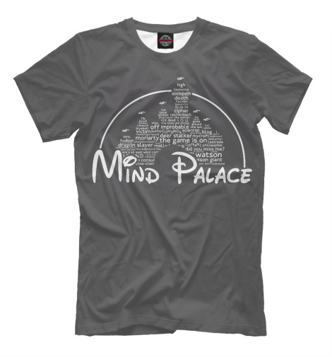 Футболка Print Bar Mind Palace