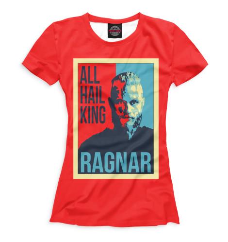Женская футболка Рагнар Лодброк