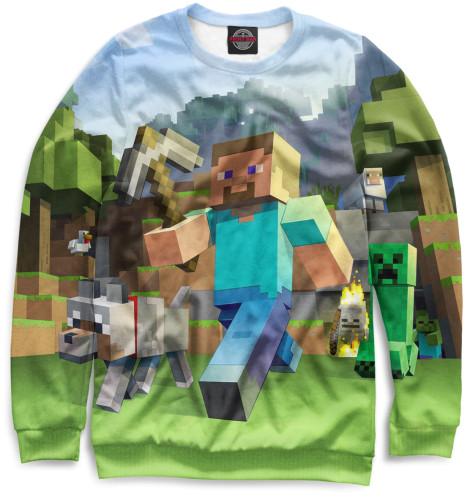 Женский свитшот Minecraft