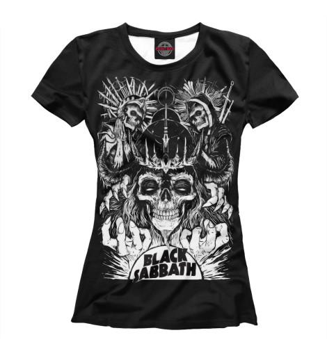 Купить Женская футболка Black Sabbath BSB-359992-fut-1