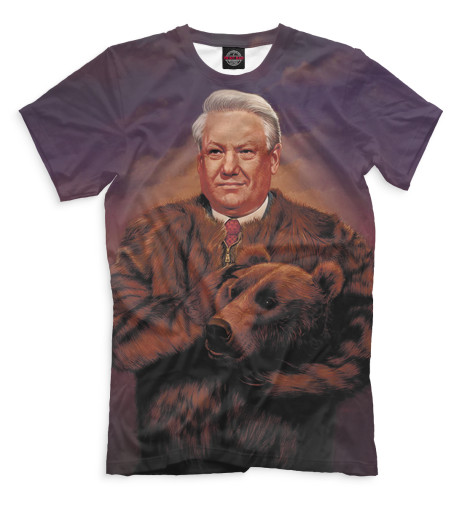 Мужская футболка Ельцин