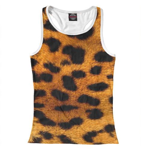 Майка борцовка Print Bar Пятно леопарда худи print bar пятно леопарда