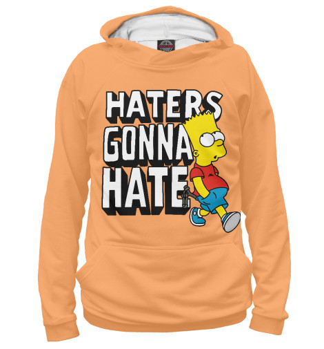 Худи Print Bar Haters Gonna Hate футболка wearcraft premium printio haters gonna hate fluttershy doesn t care