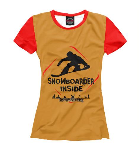 Футболка Print Bar Snowboarder Inside looking inside