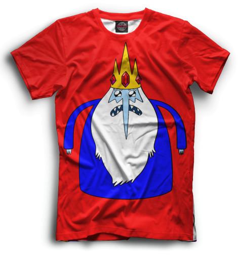 Мужская футболка Ледяной Король
