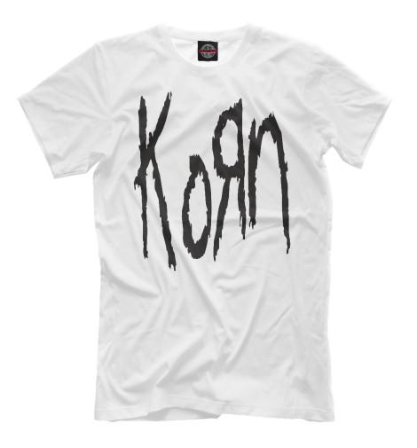 Мужская футболка KoRn Logo
