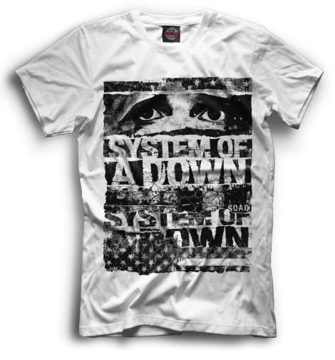 Мужская футболка System of a Down
