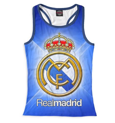 Женская майка-борцовка Real Madrid