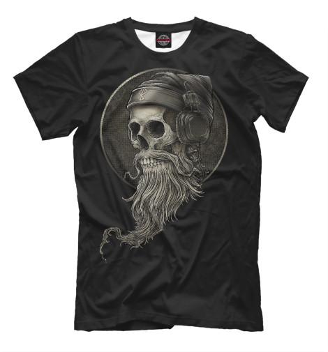 Футболка Print Bar Диджей Skull худи print bar skull