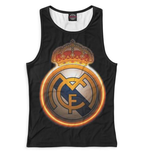 Женская майка-борцовка Реал Мадрид герб