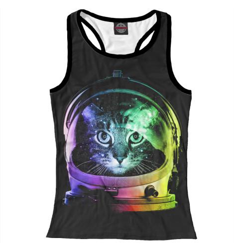 Майка борцовка Print Bar Space Cat лонгслив printio космо кот space cat page 7
