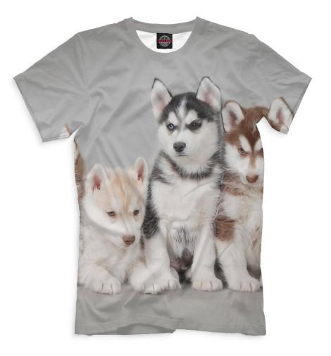 Мужская футболка Собаки