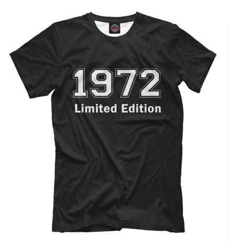 Футболка Print Bar Limited Edition 1972 1999 limited edition tony stewart 20 1 24 scale nascar stock car bank