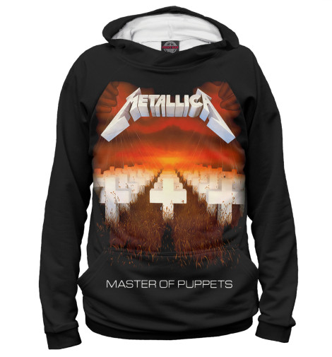 Худи Print Bar Metallica Master of Puppets