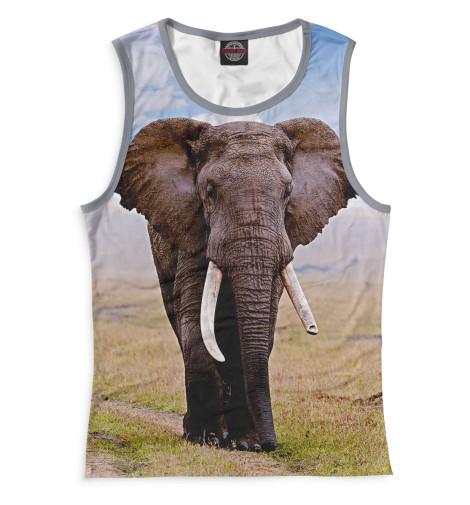 Майка Print Bar Слоны табуреты слоны в москве