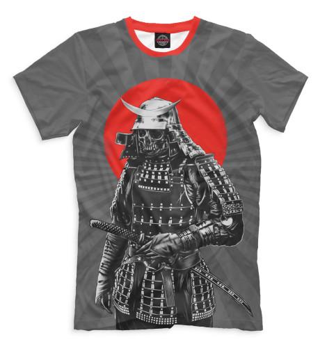 где купить Футболка Print Bar Мертвый самурай по лучшей цене