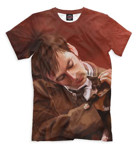 Мужская футболка Доктор Кто
