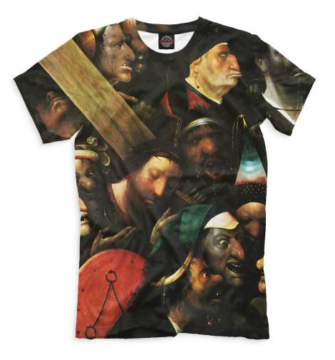 Мужская футболка Несение креста