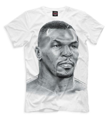 Мужская футболка Майк Тайсон портрет