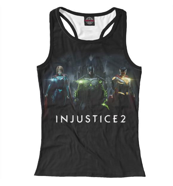 Купить Женская майка-борцовка Injustice 2 INJ-295174-mayb-1