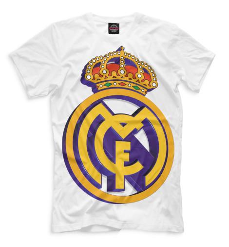 Мужская футболка Реал Мадрид герб