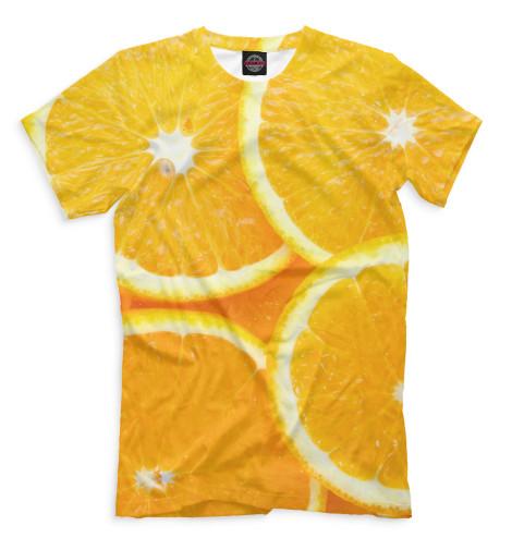 Мужская футболка Апельсины