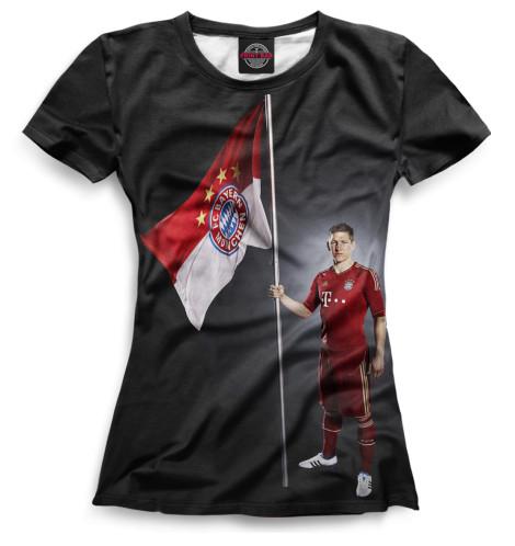 Женская футболка Швайнштайгер