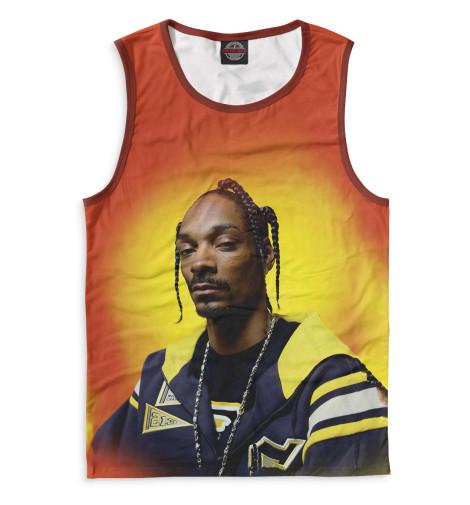Мужская майка Snoop DoggВсе майки изготавливаются в Москве на нашем производстве и состоят из высококачественного материала кулирная гладь – эта одна из самых долговечных и стойких к износу тканей. Благодаря этому, качество изображения на футболке получается наиболее ярким и насыщенным и выдерживает любое количество стирок.<br><br>Размер INT: 2XS,XS,S,M,L,XL,XXL,XXXL,4XL,5XL,104,110,116,122,128,134,140,146,152,158<br>Цвет: Белый<br>Пол: Мужской<br>Материал: Хлопок