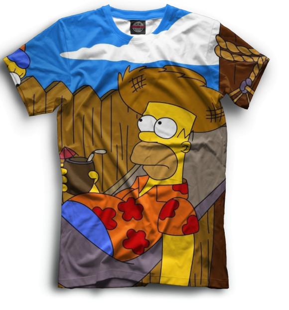 Купить Мужская футболка Гомер SIM-949193-fut-2